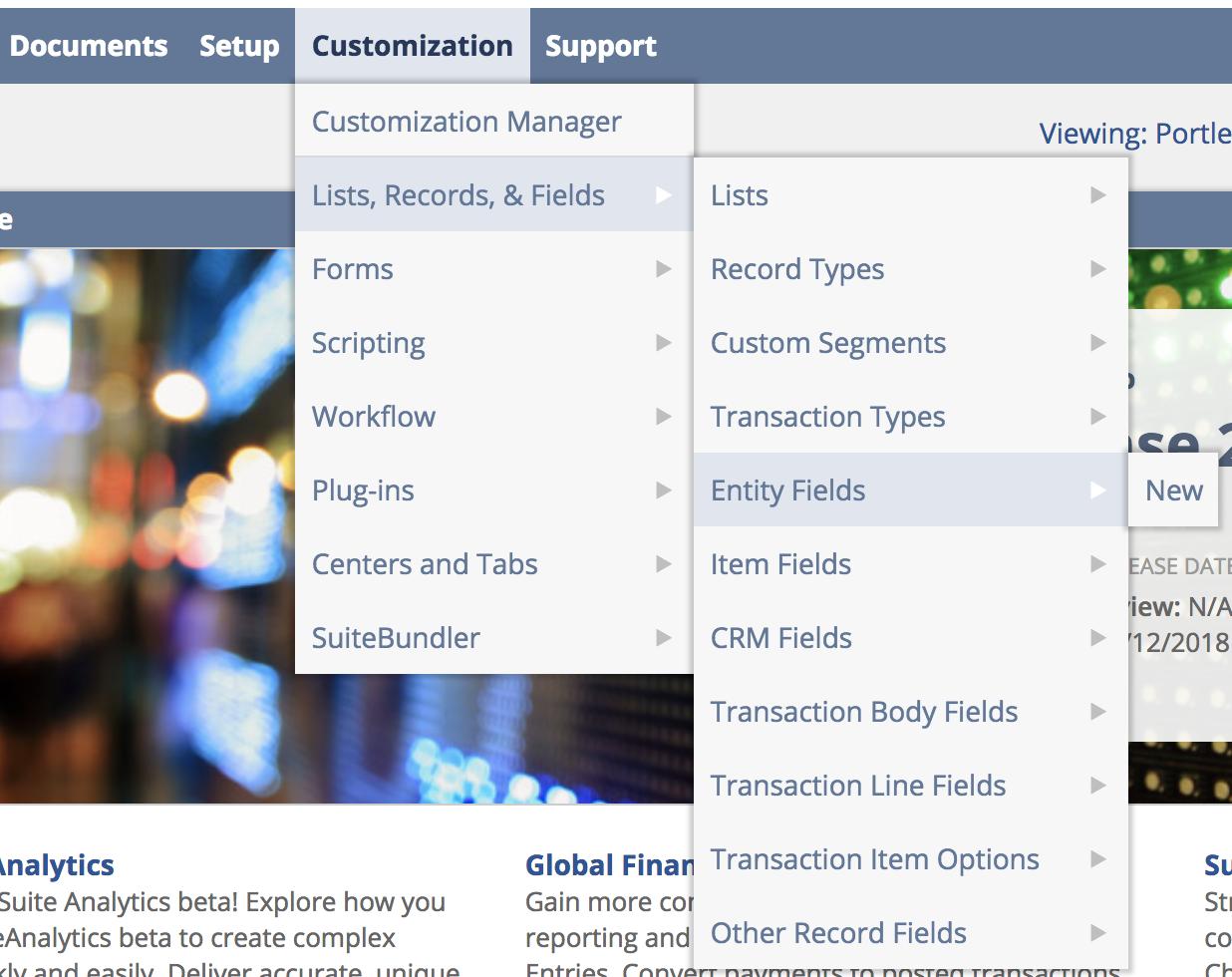 NetSuite's List/Record Custom Fields – Azuqua Support Center